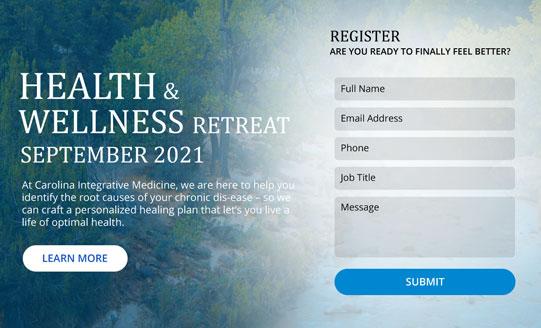 HEALTH & WELLNESS RETREAT